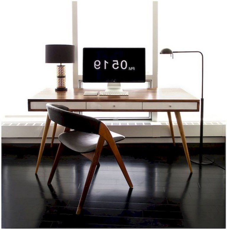 55 Comfy And Masculine Home Office Decor Ideas Office Desk