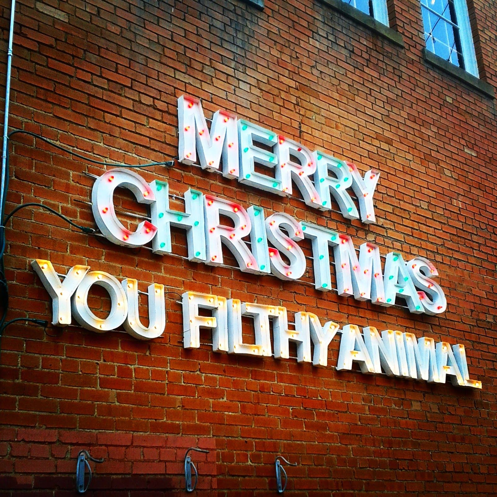 Home Alone quote - Merry Christmas Ya Filthy Animal found in Bishop ...
