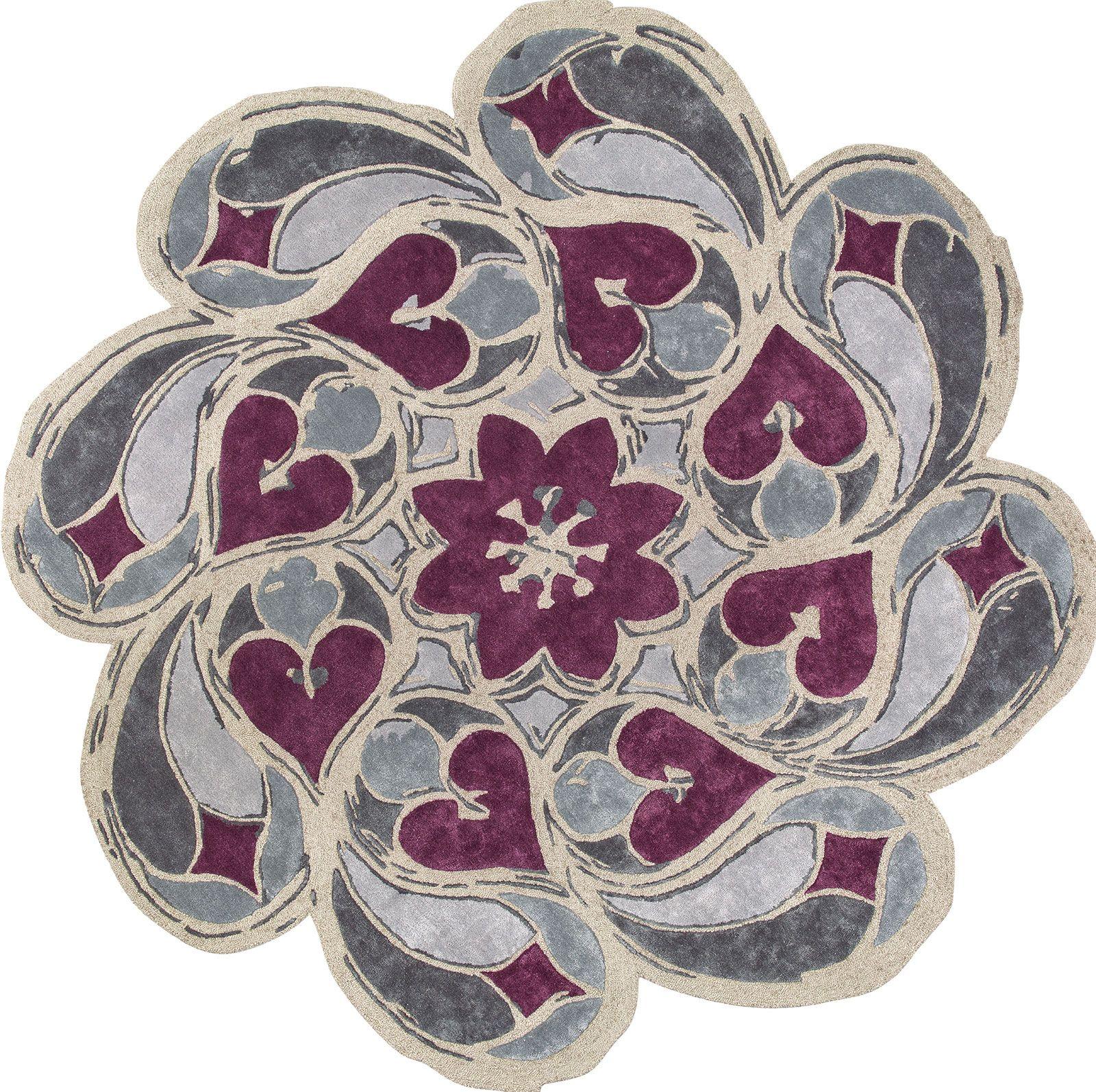 Rosone tappeto contemporaneo rotondo | Carpets Italy Dream ...