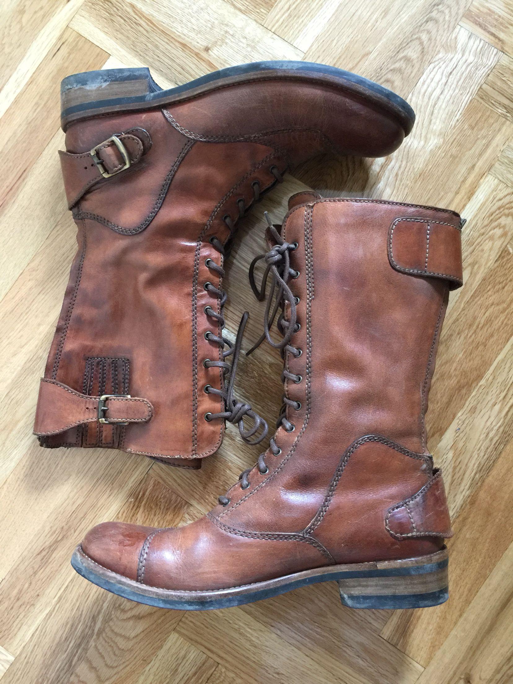 wide varieties super popular huge selection of Belstaff streetmaster brown Biker boots   shoes   Biker ...