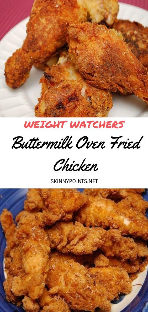 Buttermilk Oven Fried Chicken Buttermilk Oven Fried Chicken Oven Fried Chicken Fries In The Oven