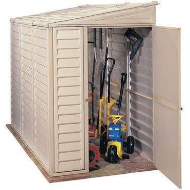 Garden Sheds 3 X 6 duramax sidemate plastic shed | garden storage | pinterest