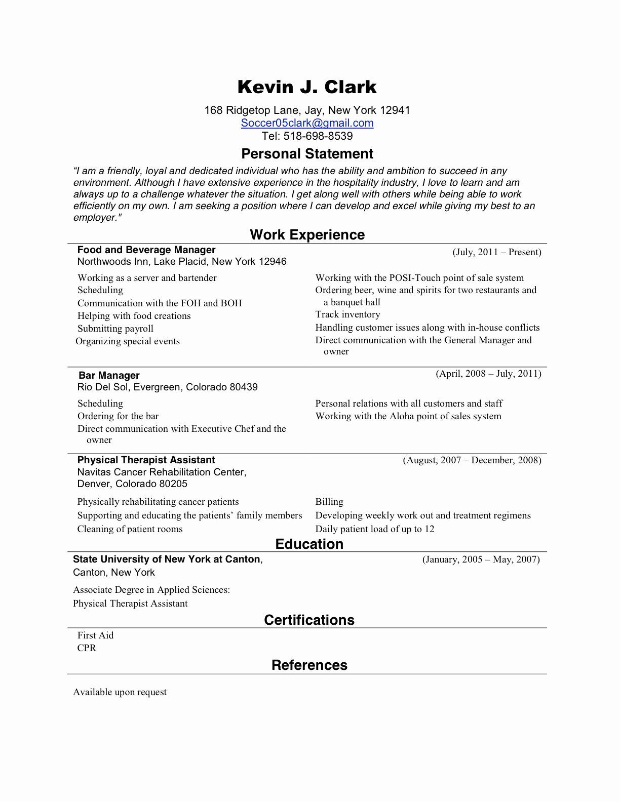 25 New Grad Nursing Resume Templates in 2020 Nursing