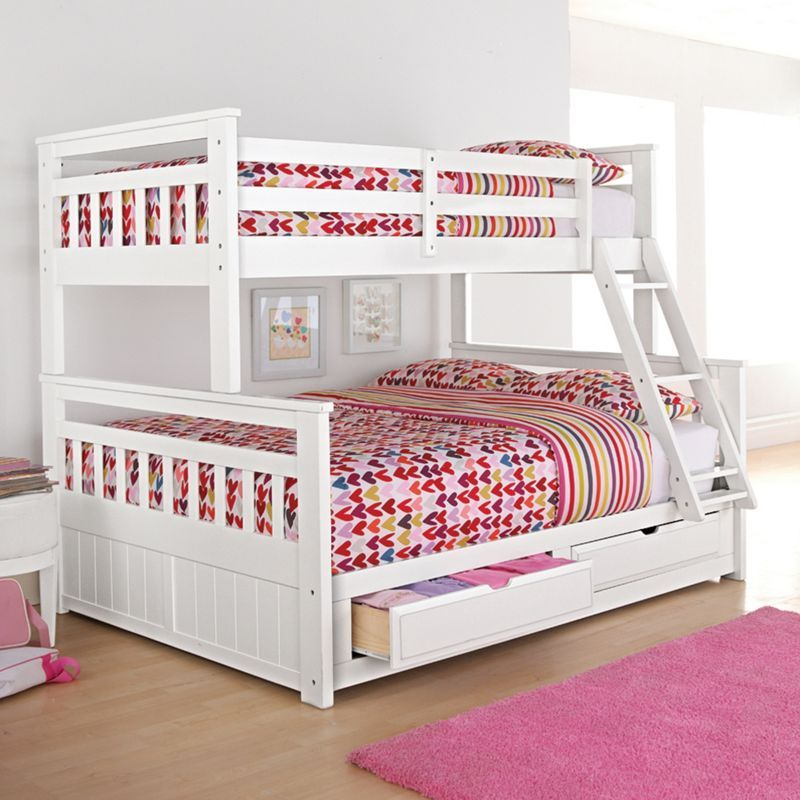 Springsdale Twin Over Double Storage Bunk Bed Sears Sears Canada Bunk Beds With Storage Kids Bunk Beds Bunk Beds