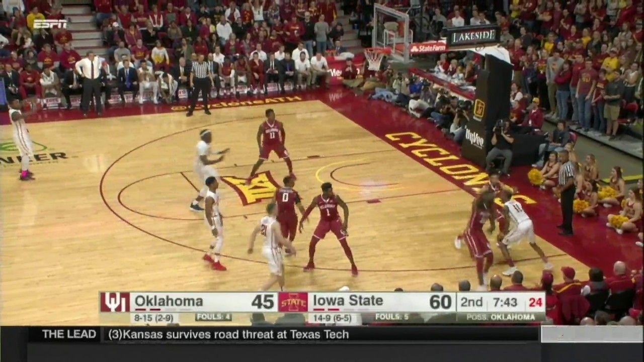 Iowa State Men's Basketball Highlights vs. Oklahoma https
