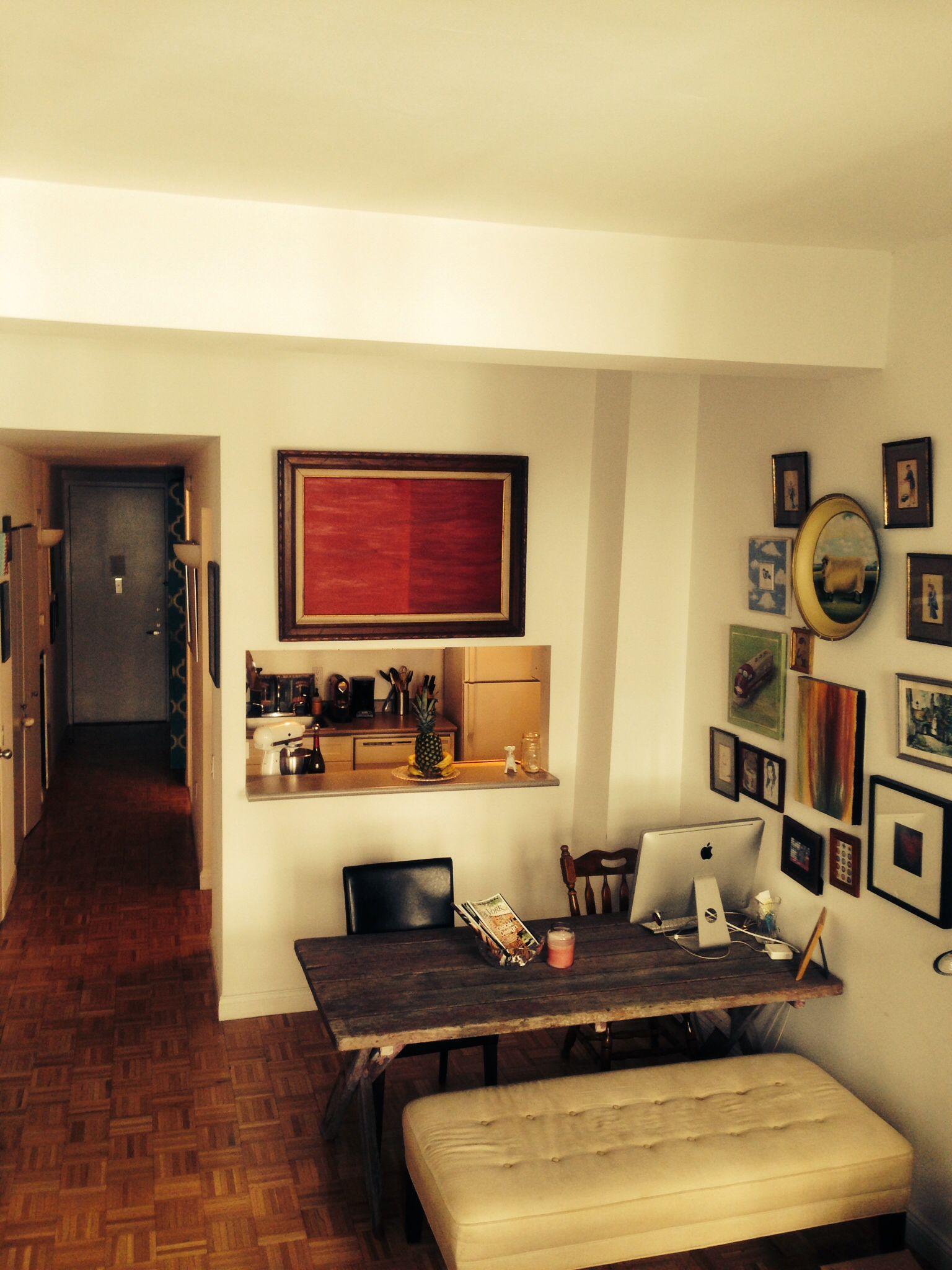 Railroad kitchen, NY Kitchen, wallpaper in kitchen, ideas for ...