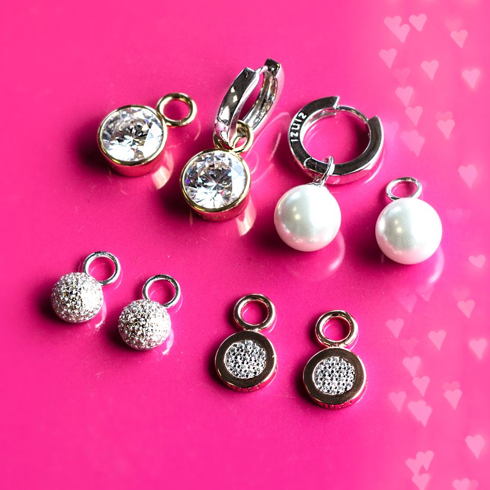 Spring is in the EAR! Combine Zinzi creoles and creole pendants for ...