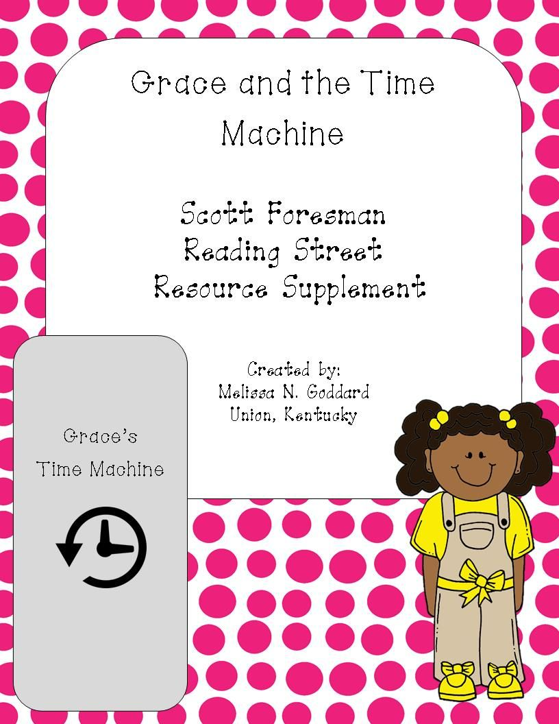 Workbooks scott foresman social studies workbook answers 5th grade : Grace and the Time Machine Reading Street Supplement Grade 4 http ...