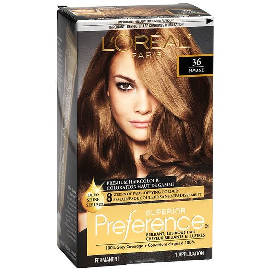 L Oreal Superior Preference Fade Defying Colour Shine System