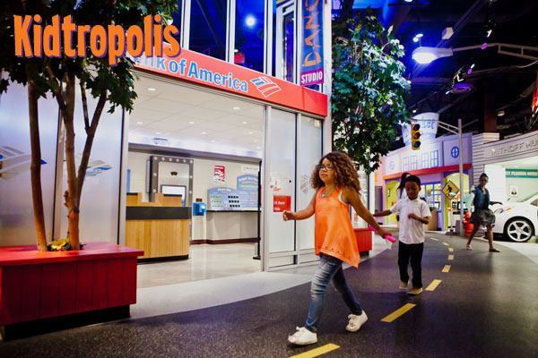 Children's Museum of Houston - Kidtropolis, USA marks a ...
