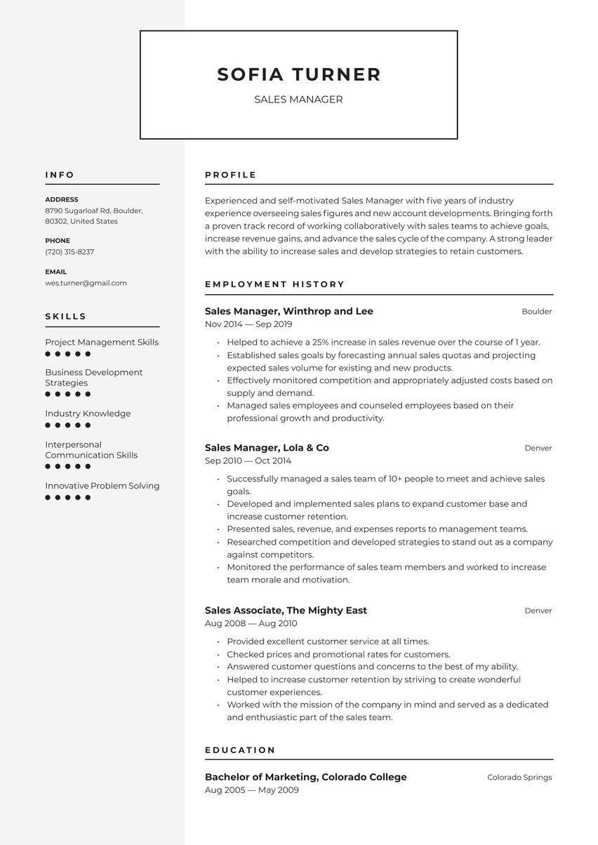 Create Your Job Winning Resume · Resume.io in 2020