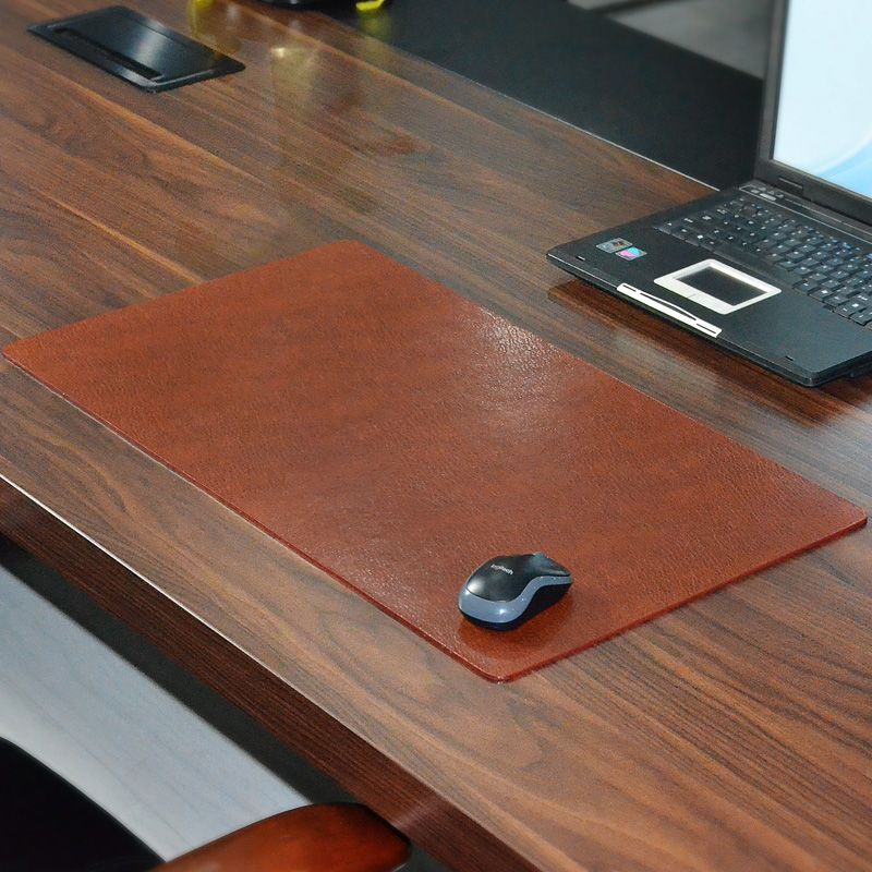 Compare Prices Xxmm Waterproof Genuine Leather Cowhide Large - Table pad material