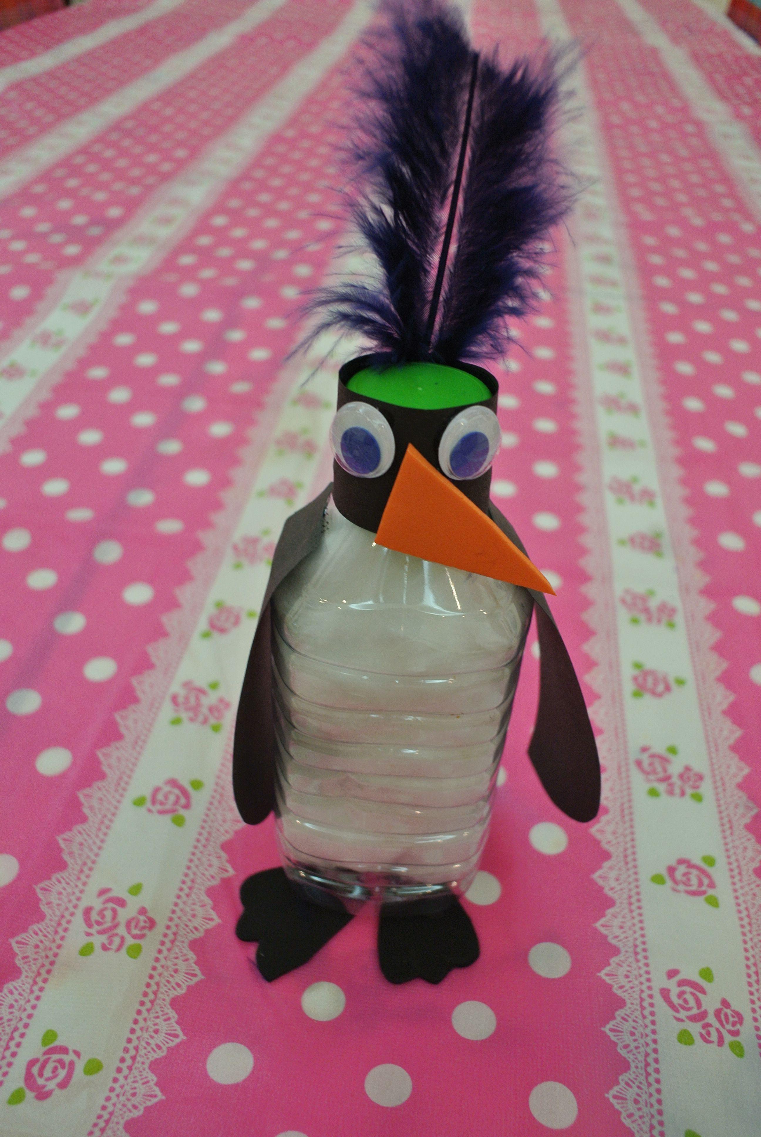 Kids Plastic Bottle Penguin