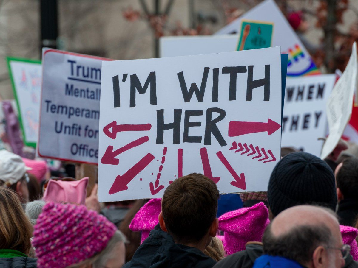 53 Of The Most Eye Catching Protest Signs We Saw At The Women S March On Washington Womens March Signs Womens March Protest Signs