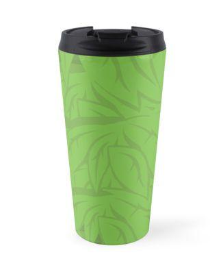 Leaves Travel Mug #leaves #nature #earth #plants #green