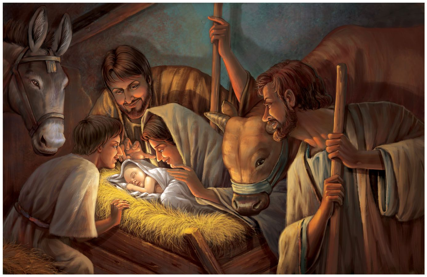 Image result for birth of Jesus