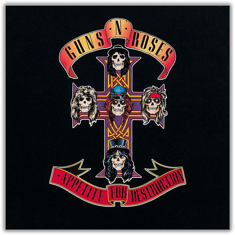 Standard Guns N Roses Appetite For Destruction Album Poster
