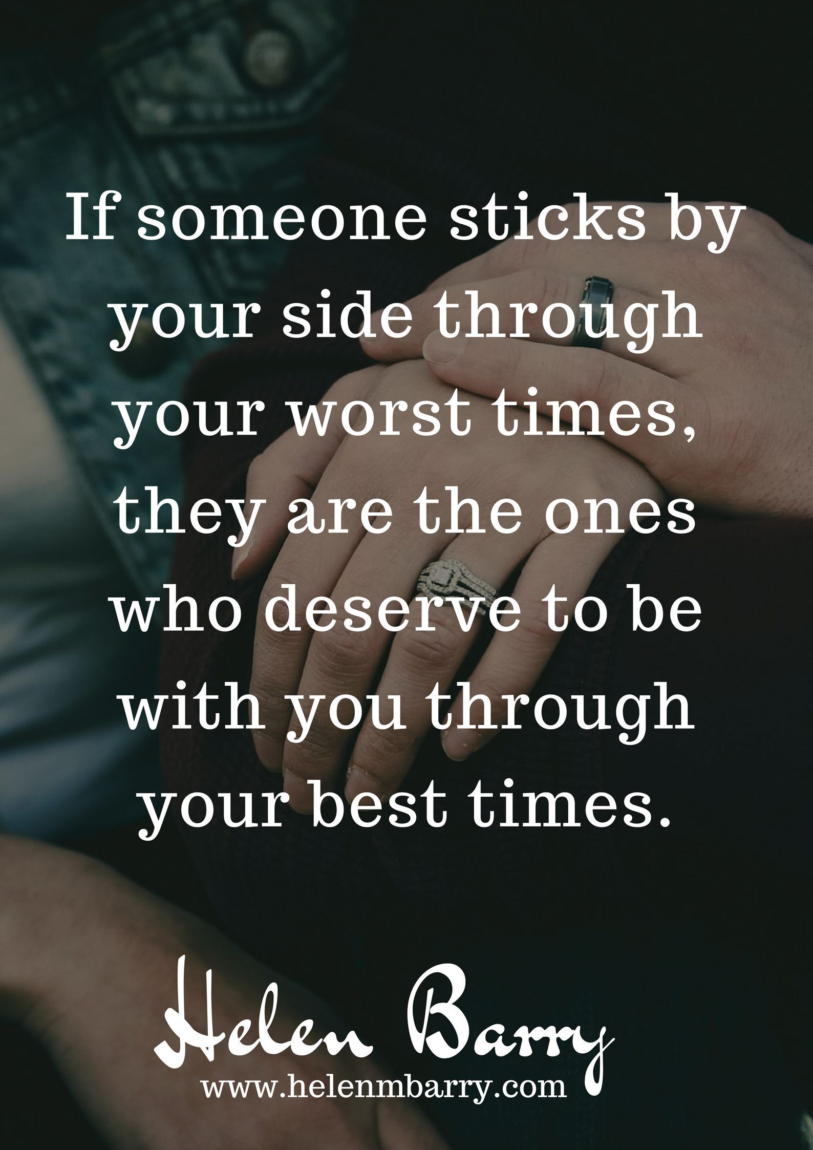 Nobody Sticks So No One Deserves To Be With Mebut Actually There