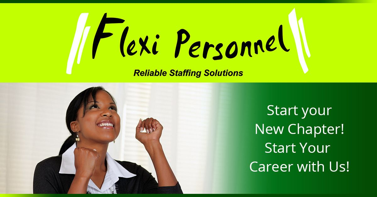 We are hiring in Nairobi (Kenya) Flexi Personnel Sales