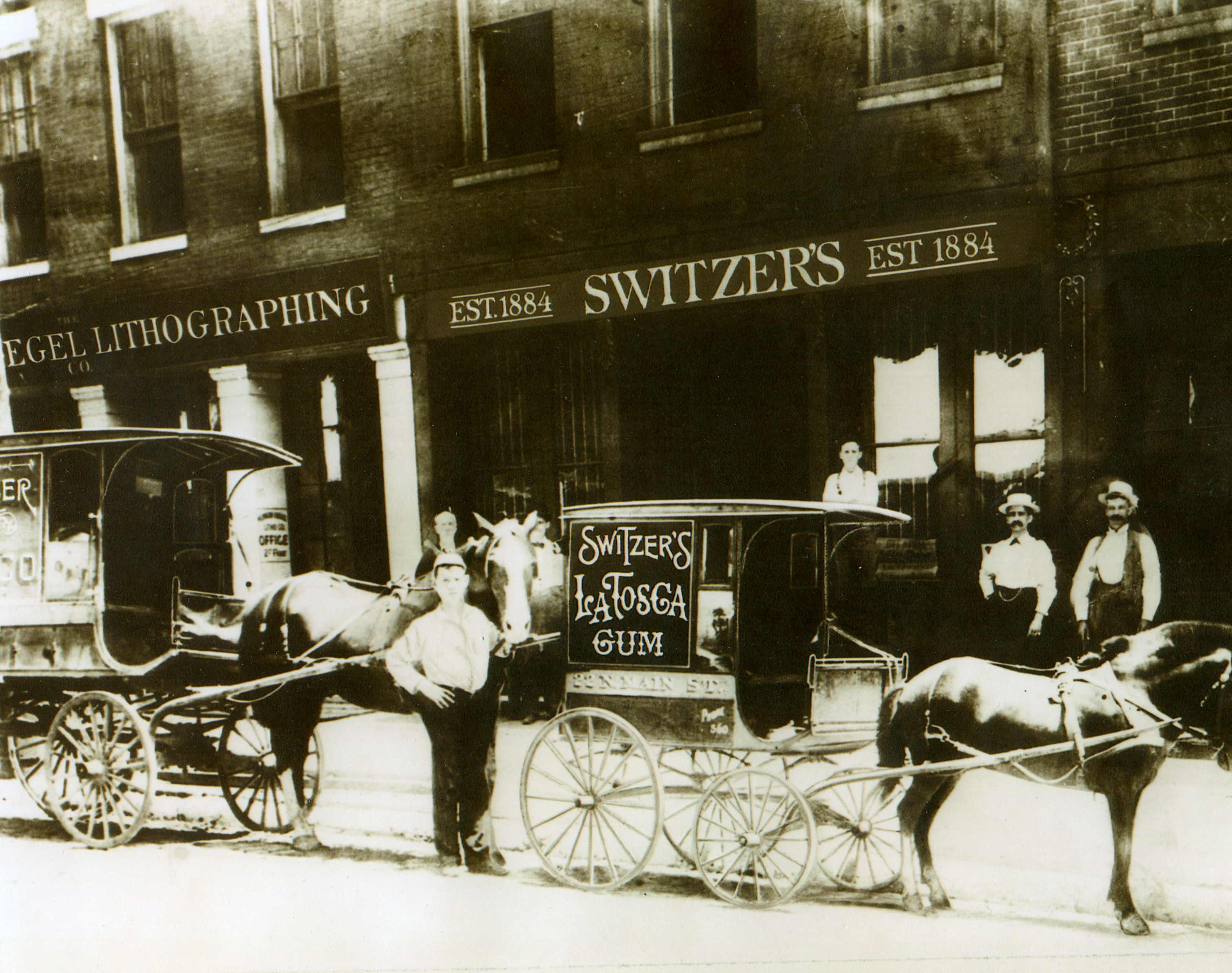 frederick michael switzer was born in st louis his father an