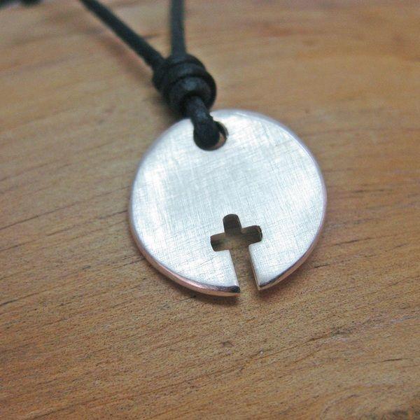 """Silberanhänger - Silberanhänger Kreuz """"Elias"""" - ein Designerstück von Birli bei DaWanda"""