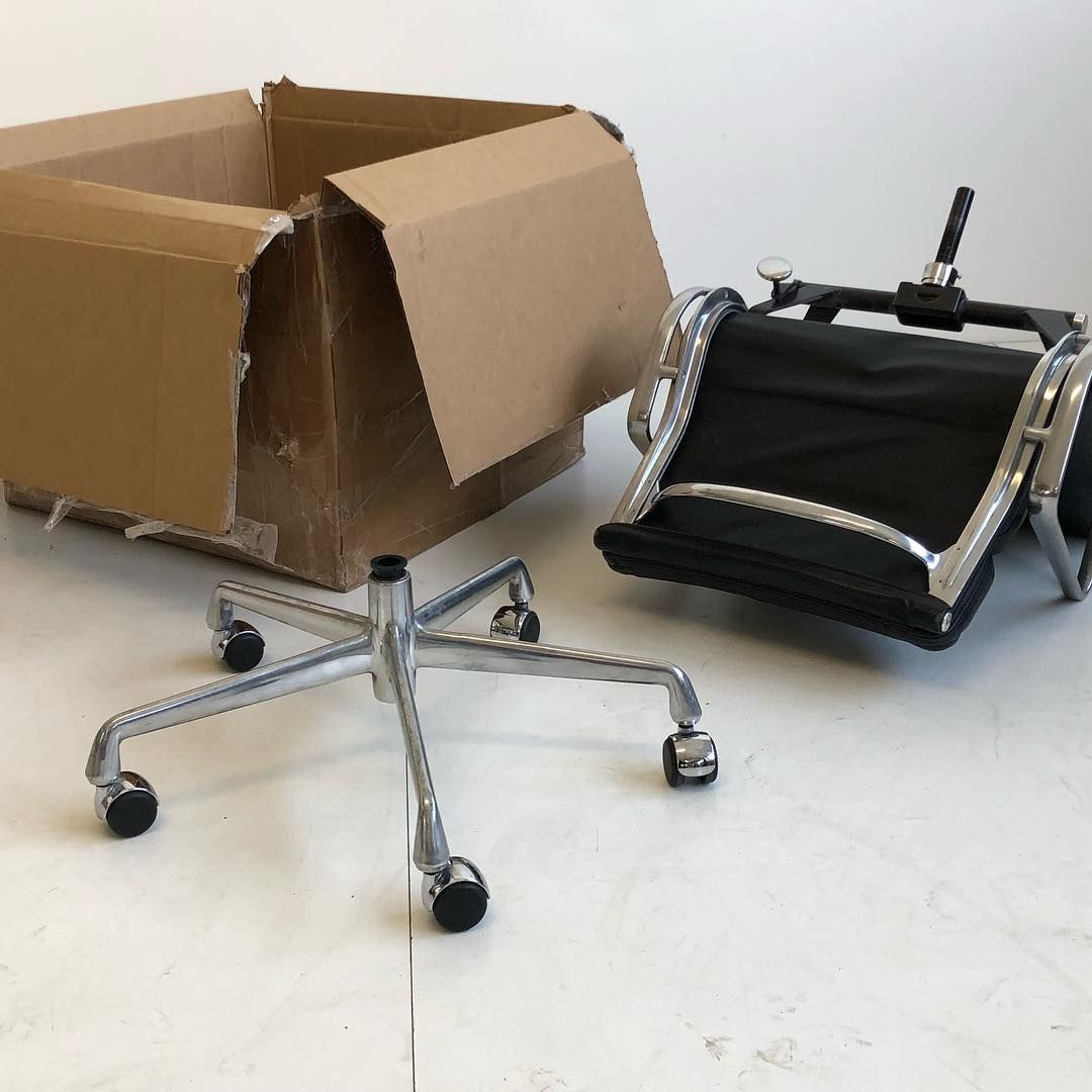 Put It In A Box And Take It With You! Indestructible! #Eames Aluminum
