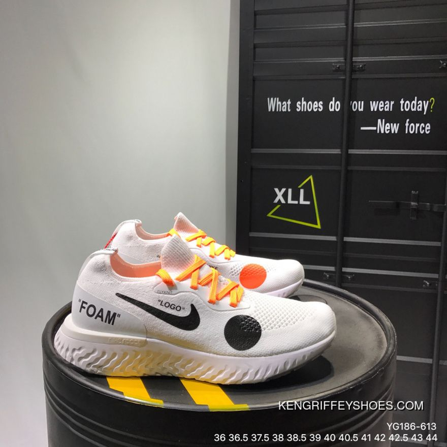 8d228ea6acfb7 200 OFF-white X Nike Free Rn Flyknit White YG186-613 2018 Russia FIFA World  Cup New Release