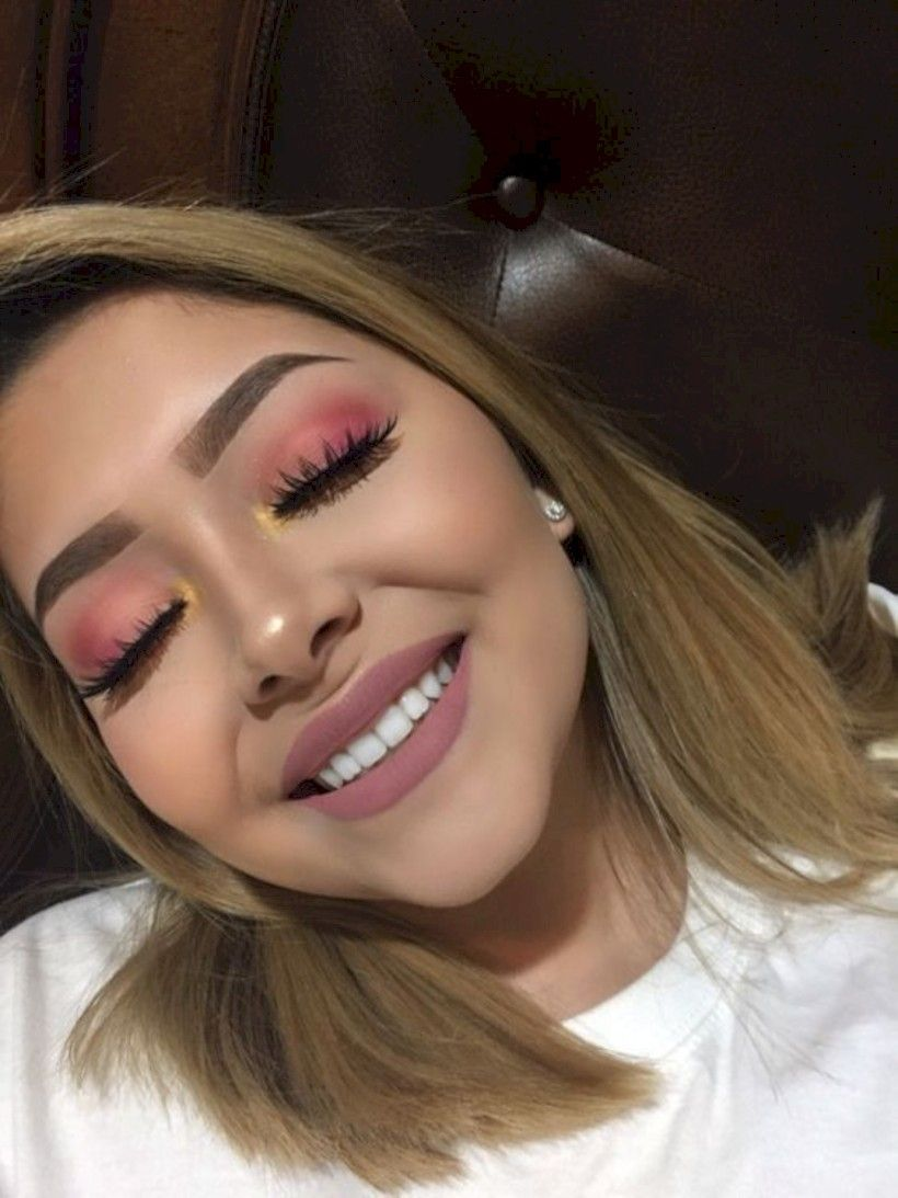 6abcd23d1a 40 Cute Prom Makeup Ideas For Teenage Girls