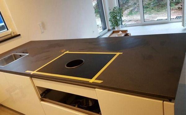 Diese besondere #Granitplatte haben wir nicht poliert, sondern - granit arbeitsplatte küche