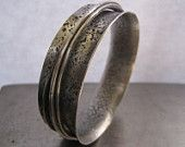 Sterling Spinner Bangle....by Victoria Teague