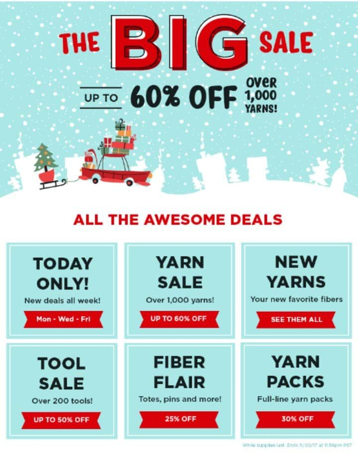 Black Friday Yarn Sale Ultimate Guide To Black Friday And Cyber Monday Knitting Sales For 2020 Yarn For Sale Craft Sale Big Sale