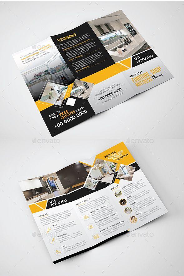 Tri fold Brochure   Tri fold brochure template, Tri fold brochure ...