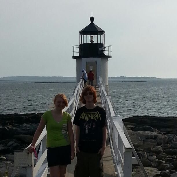 Marshall point light house- maine (if it looks familiar it's because it was in Forrest Gump)