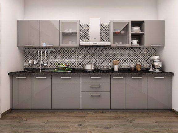 Paradiso Straight Modular Kitchen Designs