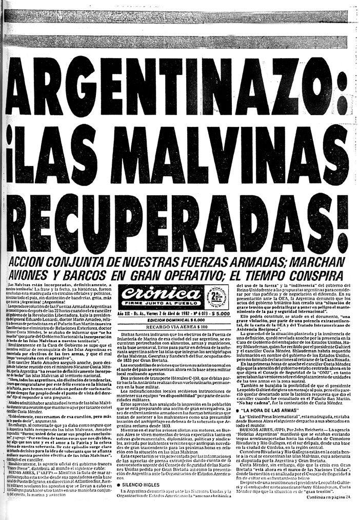ocupacion argentina en malvinas - Buscar con Google
