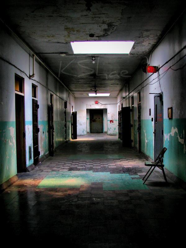 Haunted Hallway By Katrina Shae On Deviantart Scary
