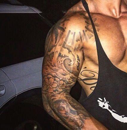 Pin By Jo On Tattoo Mens Shoulder Tattoo Shoulder Tattoo Sleeve Tattoos