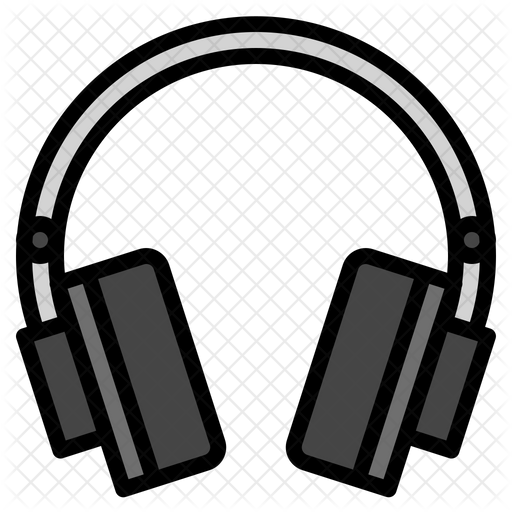 Headphone Icon Of Colored Outline Style Available In Svg Png Eps Ai Icon Fonts Icon Icon Font Instagram Icons