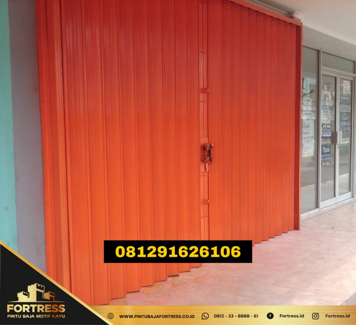 0812-3388-8861 (FORTRESS), Folding Gate Semarang Blitar Tang …