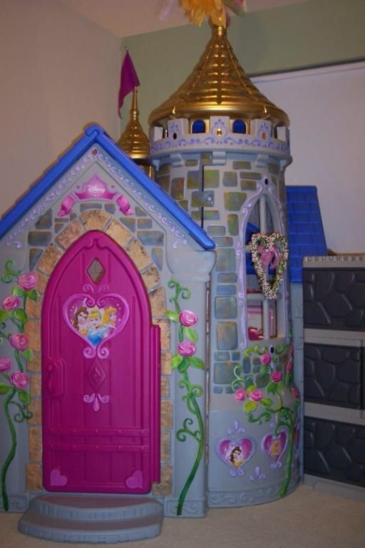 Disney Princess Wonderland Castle Playhouse By Little