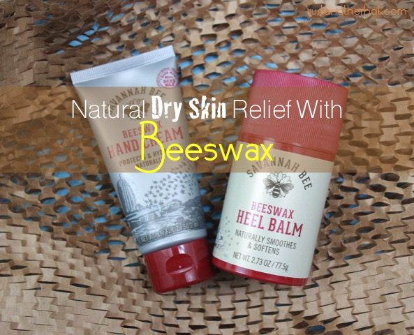 Bee products for dry skin