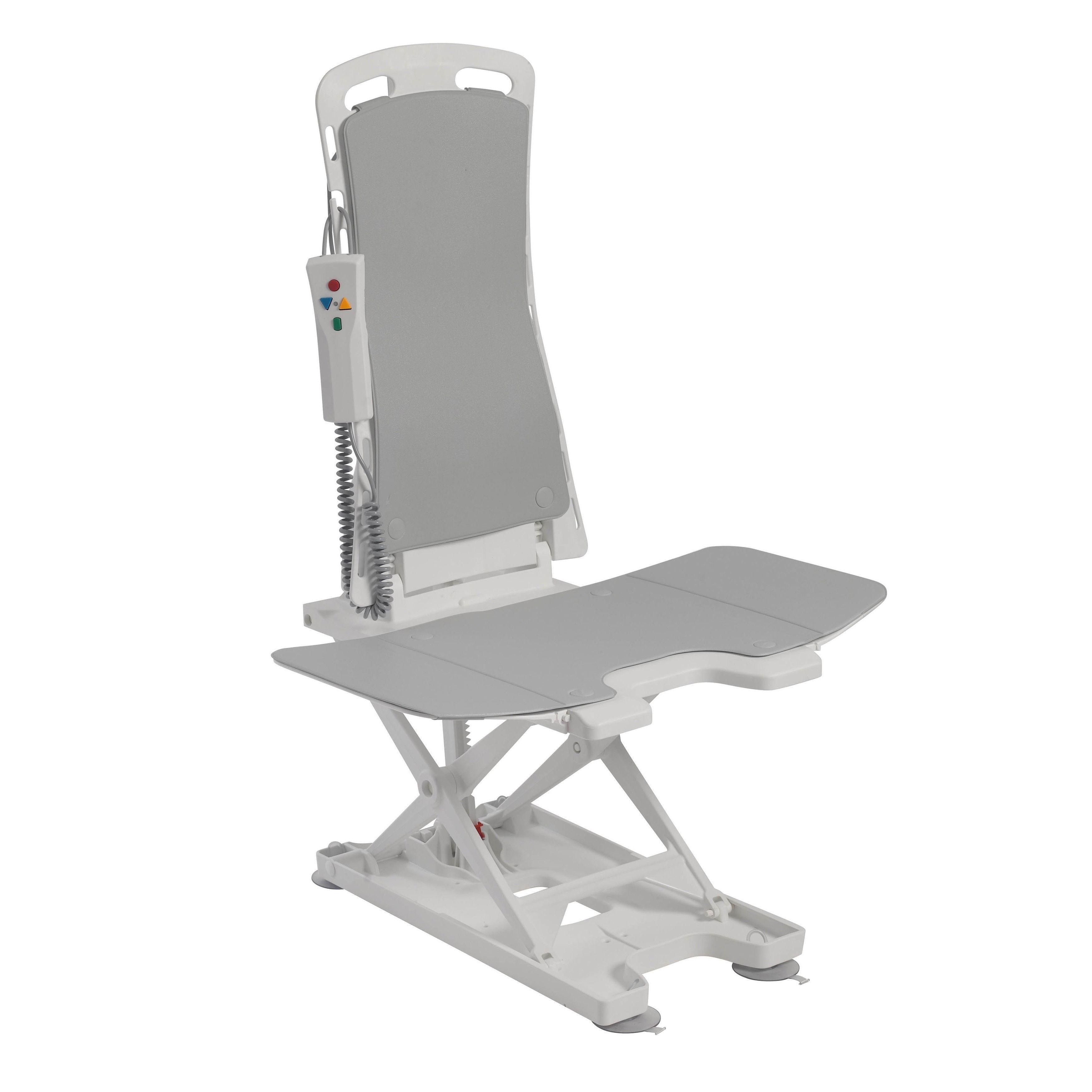 Drive Medical Bellavita Auto Bath Tub Chair Seat Lift, White | Tub ...