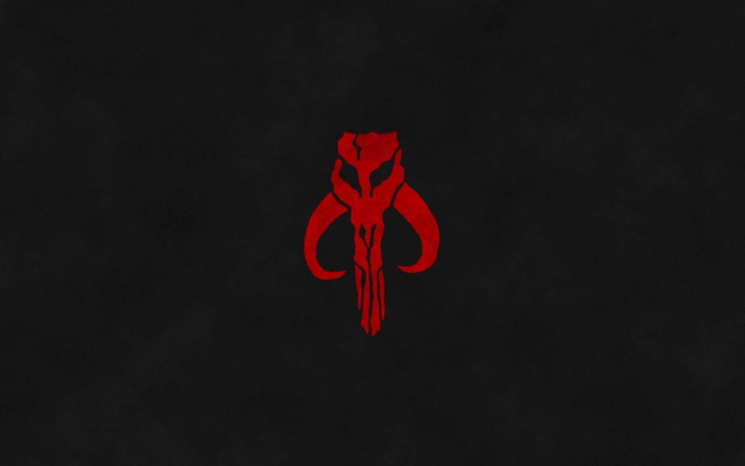Mandalorian Star Wars Dark Emblems Wallpaper Red And Black Background Star Wars Star Wars Boba Fett