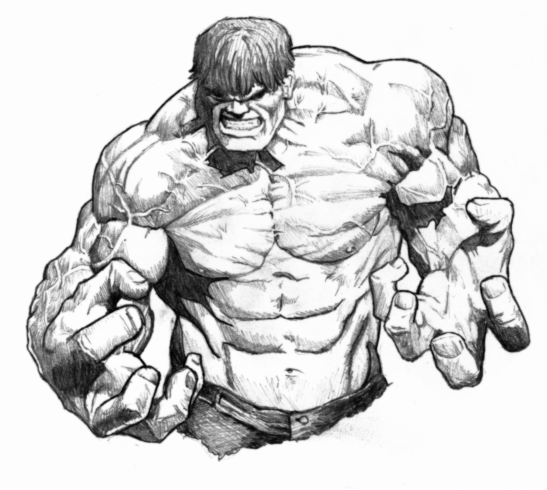 The Incredible Hulk Drawings   Google Search