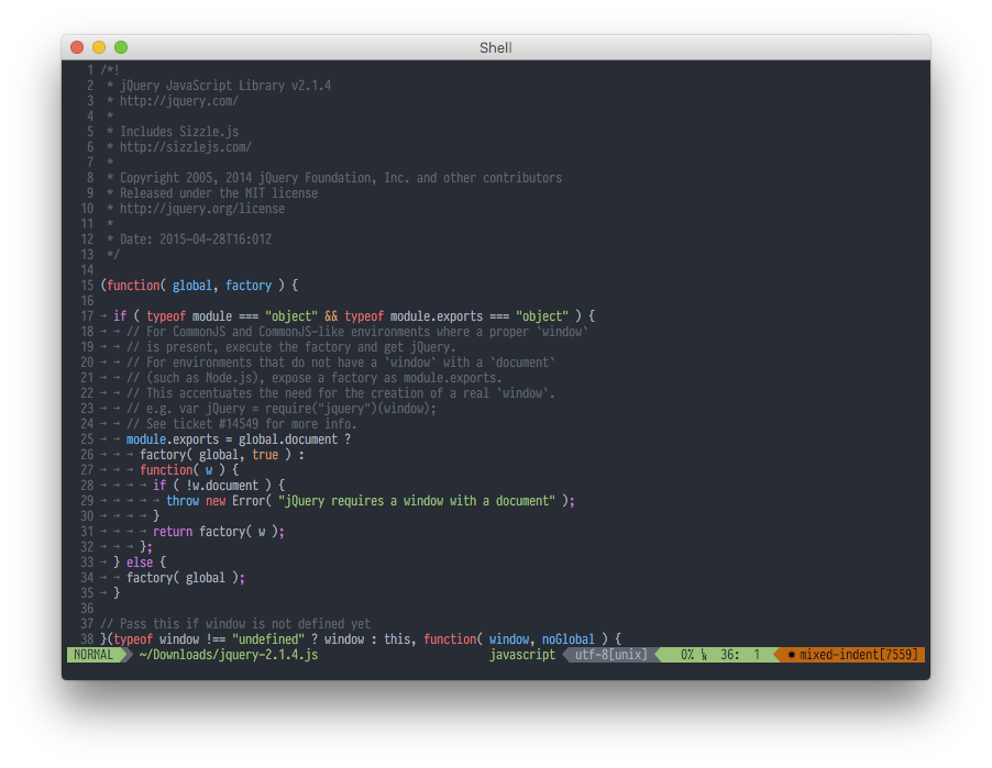 onedark vim Preview | Themes for code and terminal | Text