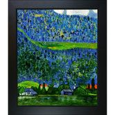 Found it at Wayfair - Unterach on Lake Atter by Gustav Klimt Framed Painting…