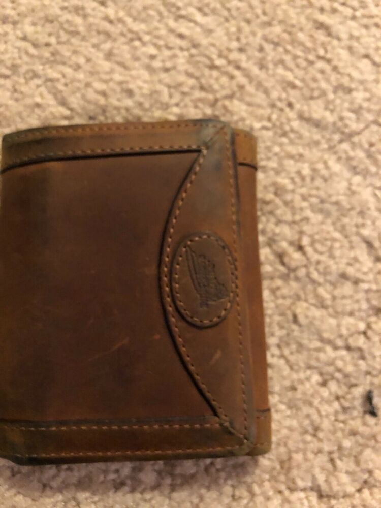 Redwing Tri Fold Copper Rough N Tough Wallet Fashion Clothing Shoes Accessories Mensaccessories Wallets Ebay L Wallet Tough Wallets Black Leather Wallet