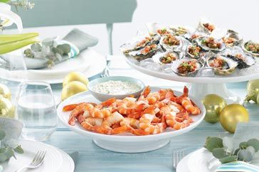 Some like it hot some not with cold seafood platters and bbq with cold seafood platters and bbq classics this christmas banquet has a real aussie flavour forumfinder Image collections