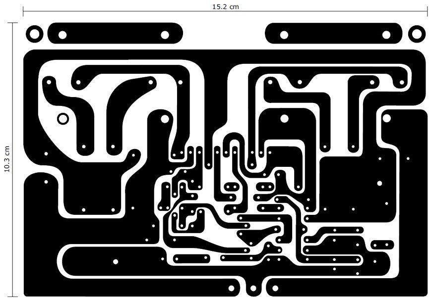 120W Power Amplifier PCB Layout Design | schémy | Pinterest | Layout ...