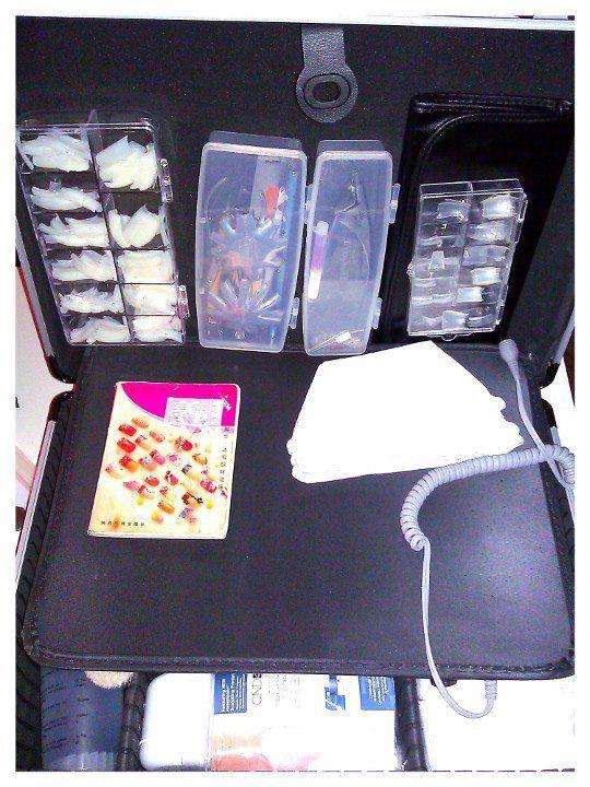 My Mobile Nail Tech Box 2 Mobile Nails Mobile Nail Technician